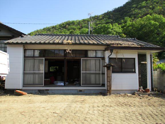 岡山県和気町 U様邸家屋解体工事