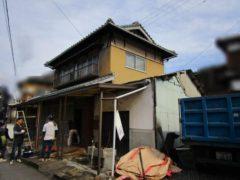 岡山県備前市 二階建木造家屋解体工事