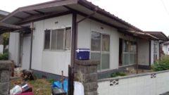 岡山県和気町 F様邸軽量鉄骨造家屋解体工事