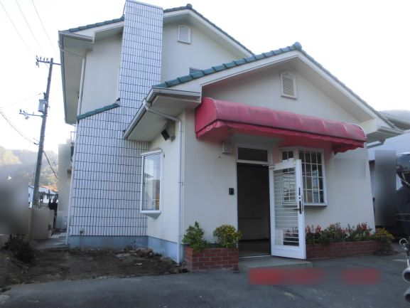 岡山県和気町 S様邸店舗兼家屋解体工事