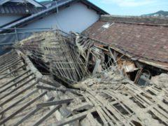 岡山県和気町 A様邸木造平屋家屋解体工事
