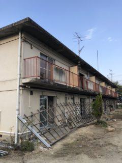 岡山県和気町 集合住宅解体工事