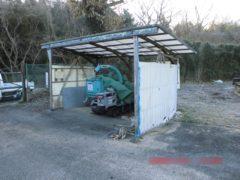 岡山県和気町 養鶏場内不要建造物解体撤去工事