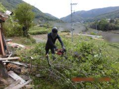 岡山県和気町 木造家屋解体工事
