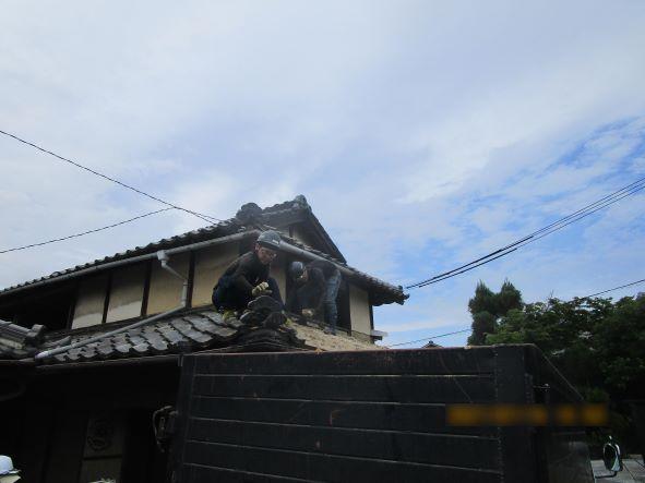 岡山県和気町 T様邸家屋解体工事