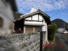 岡山県和気町 木造納屋解体工事